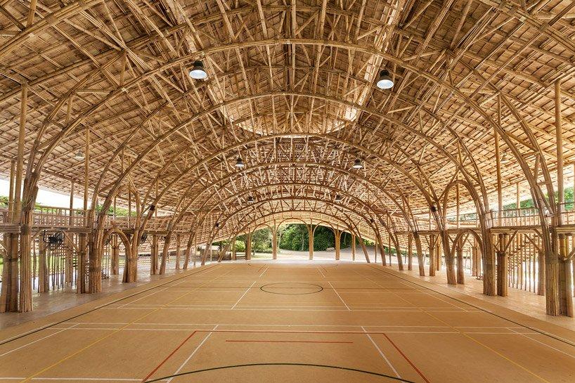 konstruksi dari bambu