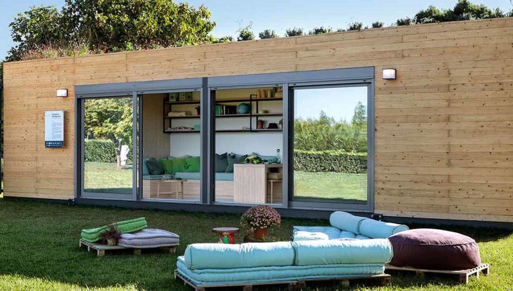Desain Rumah Mungil Dari Kontainer Ikons Id