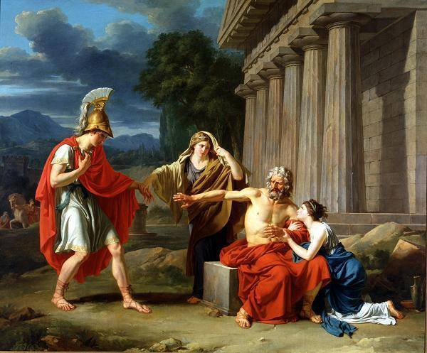 Oedipus di Colonus