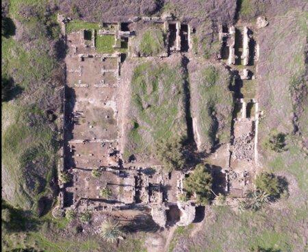 Lokasi penemuan masjid di Tiberias (Credit: Katia Cytryn-Silverman / Hebrew University)