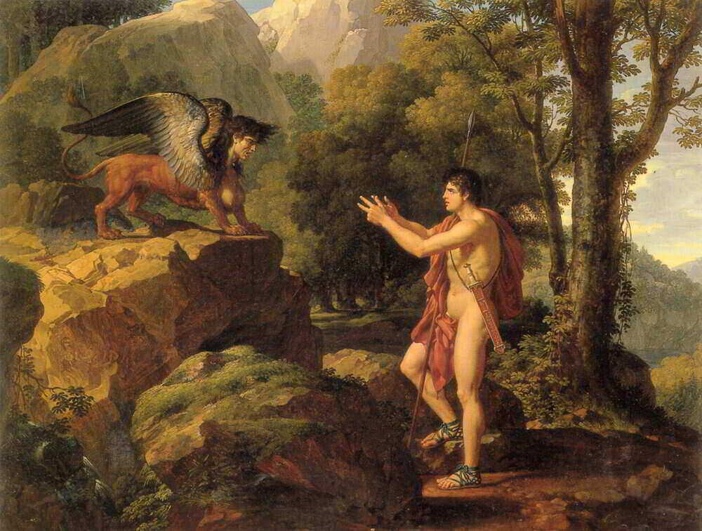 sphinx san oedipus